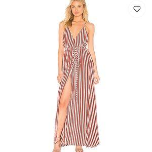 NWT Faithfull the Brand Santa Rosa Maxi Dress